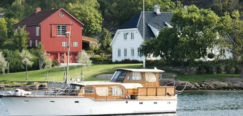 Ferieperle: Den rikeste nordmannen har kanskje også det mest eksklusive feriestedet på øyene. John Fredriksens perle i Movik ser du bilde av her.