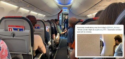 FLY: Ikke alle vindussetene gir deg utsikt. Denne artikkelen forteller deg hvorfor, og hvordan du kan unngå at det skjer med deg. Illustrasjon.