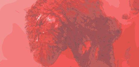 HETT: Helgen blir fantastisk, men til uka snur det. Foto: Meteorologisk institutt