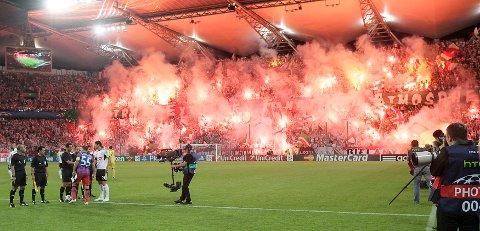 Champions League play off hjemme mot Steaua Bucuresti.