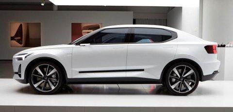 GRUNNLAGET: Volvo Concept 40.2 danner utgangspunkt for flere elbiler. Samtidig legger den et grunnlag for kommende Polestar 2.
