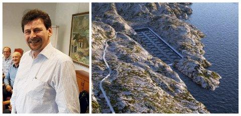 NYTT HÅP: Geir Nordahl-Pedersen, dagleg leiar i Losna Seafood har fått nytt håp, etter at fiskeriministeren fekk saka hans gjenopptatt. No trur han framtida til det planlagde oppdrettsannlegget på Solund er lys.