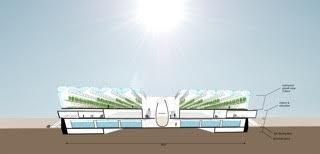 Store planer:Dette er en skisse av hvordan  «fiskefabrikken» kan bli, fra et tidlig stadium.