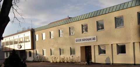HISTORIE: Det er noen år siden det var batterivirksomhet i Moloveien 3 i Horten, mens historien hjemsøker fortsatt Exide-konsernet.