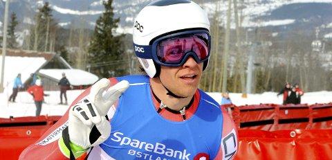 Christoffer Faarup, som kjører for Lillehammer Skiklub, hadde nest raskeste tid.