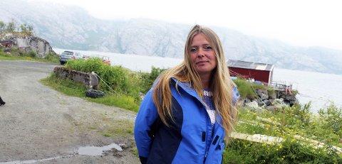 Slutt: Turid Angelica Brandtzæg Brocks satset, sammen med Levi Brocks, på turisme i Vestvågan. Nå er det i Alstahaug Tingrett åpnet konkurs i boet til Vestvågan landhandel og sjøliv AS.