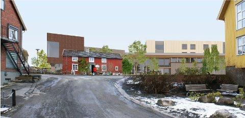VEDTATT: Forprosjektet til Inderøy Helsebygg ble vedtatt i kommunestyre onsdag kveld