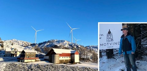 ANGRER: Bonde Svein Matningsdal angrer på at han sa ja til vindmøller. Nå har han meldt seg inn i motstandsgruppen Motvind.
