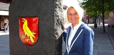 UTEKINO: – Vi lover storslagen og magisk stemning og har selvsagt bestilt fint vær, sier Kristin Utakleiv i Moss i Sentrum.