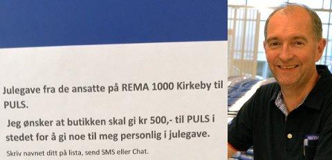 Stig Kristansen har en ny vri på julagavene til de ansatte i år.