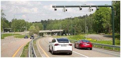IKKE AV SEG SELV: For at elbilen skal få passere gratis eller til rabattert pris på stedet, må man ha AutoPASS-brikke. Det er det mange som ikke vet.