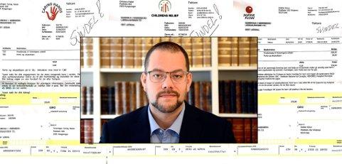 JUKS: Påtroppende leder i Innsamlingskontrollen, Per Kristian Haugen, advarer mot en rekke useriøse organisasjoner, hvor bare hver fjerde krone tilfaller veldedighet.