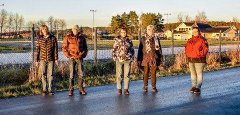 Bente Bye, Einar Johansen, Anne Lise Stenberg, Anne Karin Johansen og  Helen Hansen er blant naboene som har klaget på vedtaket i kommunestyret.