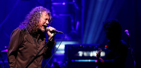 AUGUST: Robert Plant kommer til Notodden Blues Festival i august sammen med sitt band The Sensational Spaceshifters. Foto: Reuters