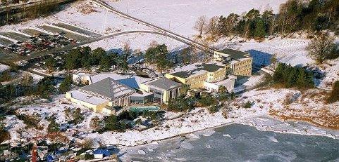 SKJEDDE HER: Her på hotellet i Langesund hadde FpU sitt landsmøte i 2000. Foto: Arkivfoto