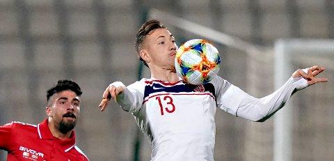 Fredrik Ulvestad er klar for spill i Kina.