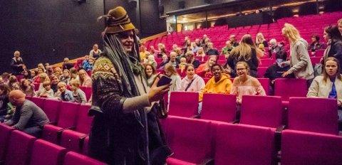 Olle Bolle i Ås kinoteater fredag kveld.