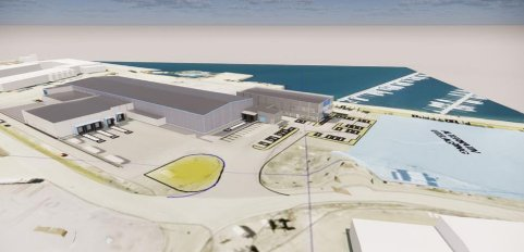 Slik planlegger Norconsult at havparken skal se ut.