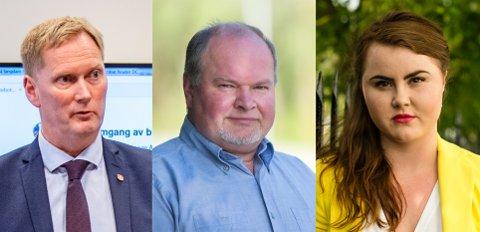 Harald Schjelderup og Linn Kristin Engø ble beskyldt for kameraderi av FNBs Trym Aafløy.
