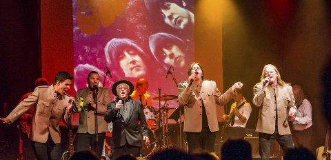 Klare for City Scene: 20.–21. januar kan Beatles-bandet oppleves på City Scene med 65-årgangen til det udødelige Liverpool-bandet. Atle Pettersen (til venstre) erstattes av den amerikanske sangeren og låtskriveren Adam Douglas som har bodd ti år i Norge. Arkivfoto: Mats Duan