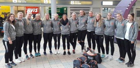 Østsidens A-lagsdamer på tur til Bodø