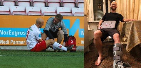 Love Reutersvärd har vært skadeforfulgt siden han kom til FFK, men denne sesongen satser han på at det skal gå bra.