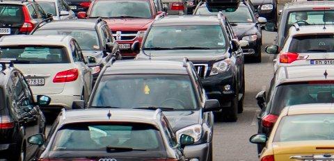 VANSKELIG STED: Parkeringsplasser kan være trøblete fordi de er ganske overfylte på Black Friday.