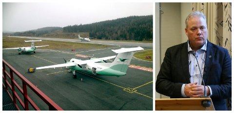 BEKYMRET: Bjørn Larsen er redd kravene til flyselskapene som skal delta i anbudskonkurransen til FOT-rutene er for lave.