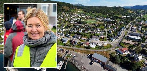 KVÆFJORDUKA: Det blir flere dager med ren matglede i Kvæfjord. På bilde: Prosjektleder Ellen Eliseussen.