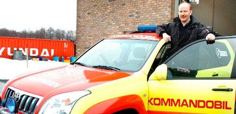 FORSKJELL: Arve Stokkan ved brannvesenet i Larvik har fått dekket kostnader for ambulanseoppdrag. Det har ikke kollegene i Kongsberg som har beredskapsansvar for deler av Larvik kommune.