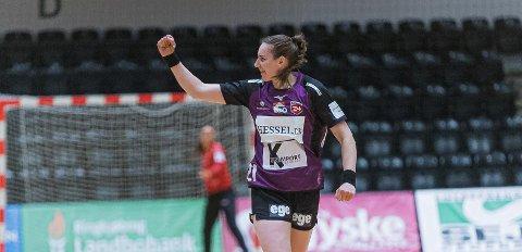 GOD START: Ingvild Bakkerud har fått en god start i sin nye danske klubb. FOTO: HERNING IKAST