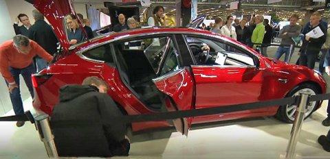 Interessen for Model 3 har vært enorm, helt siden Tesla først gikk ut og fortalte om bilen.