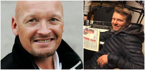 LAGKAMERATER: Finn Christian Jagge og Harald Strand Nilsen var landslagskamerater på 90-tallet.