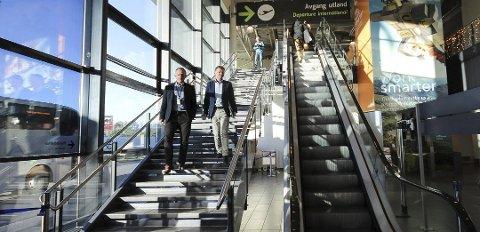 1. november: Det går mot styrt avvikling av den sivile flytrafikken på Rygge om 11 måneder dersom flypassasjeravgiften realiseres, sier direktør Pål Tandberg.