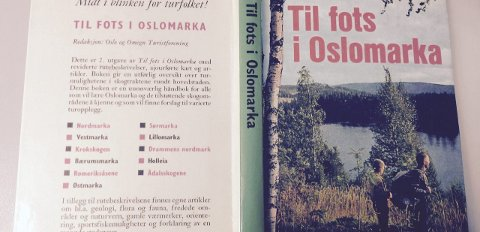Klassikeren: Guiden «Til fots i Oslomarka» kom ut i 1978. Det er fra denne de såkalte klassikerturene i Sørmarka er hentet fra.