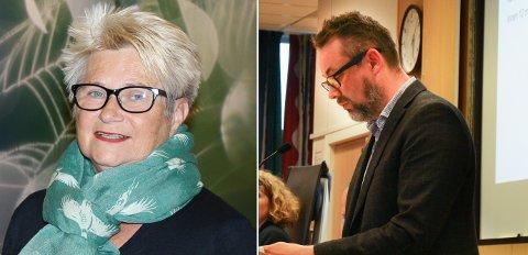 TRAKK SEG: Karin Kværner og Lars Christian Bilet trakk seg fra Frps liste. Det samme gjorde Mats Prytz Halvordsrud (ikke avbildet.