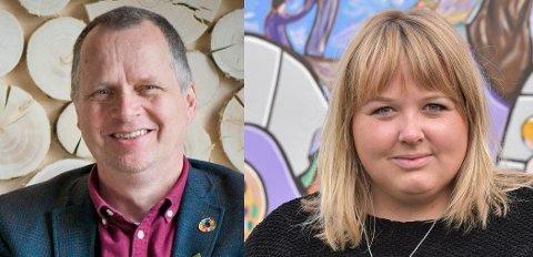 BLIR UTFORDRET: Senterpartiet i Løten med ordfører Marte Larsen Tønseth i spissen har mye makt og kan bestemme omtrent som de vil, påpeker Jon Lurås (MDG).