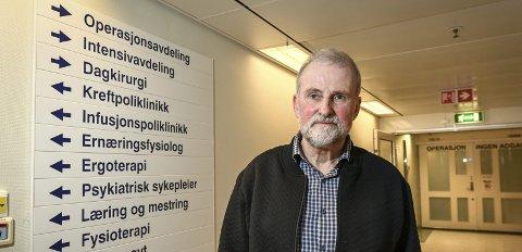 – Målet er at 70 prosent av kreftpasientene skal få et behandlingsløp innenfor standard tid, forklarte medisinsk direktør i Helgelandssykehuset, Fred A. Mürer.