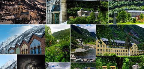FLOTTE BLDER: Fotograf Ian Brodie har samlet en rekke lekre bilder som viser Rjukan og Tinn som mulig lokasjon for film. Sjeldent har vi sett Tinn lekrere presentert på ett sted.