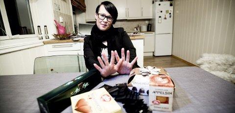 Sukkerstopp: 4. januar sa Hanne Terese Støverud at nok er nok. – I en måned skal jeg kutte ut sukker helt.Foto: Tom Gustavsen