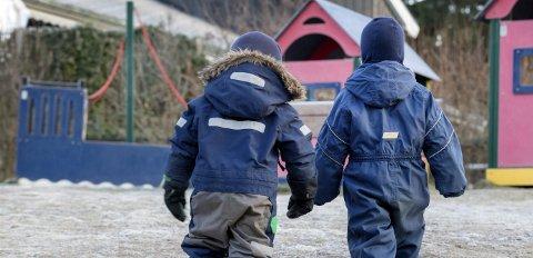Store forskjeller: Sande kommune er blant de fem kommunene i hele Norge som gir minst per barn i private barnehager.Foto: Gorm Kallestad / NTB scanpix