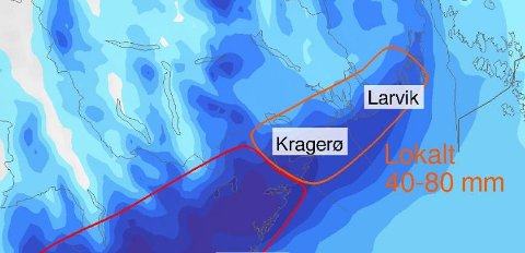 Foto: Meteorologisk Institutt