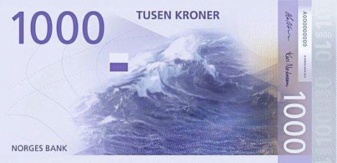 Tusen kroner rikere ble vegårsheiingen i dag morges.