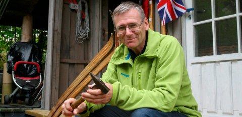 KLAR: Knut Tønsberg er klar for turen til Himalaya - en gammel drøm som går i oppfyllelse.