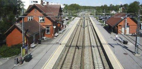 Ås stasjon.