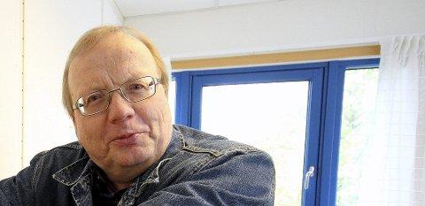 KREVER REALLØNNSVEKST: Audun Johannessen, Lokallagsleder Utdanningsforbundet Ås