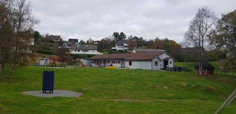 Dei 18 barna ved Kolås barnehage har blant anna fått blomepottane deira knust.