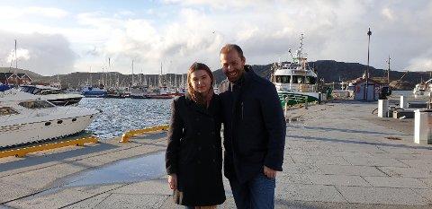 Sirianna Stormo Pettersen og Håkon Møller. Foto: Privat