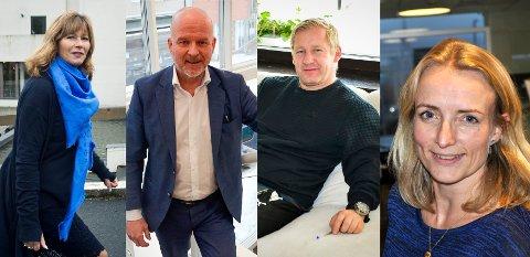 Fra venstre: Ann Sire Fjerdingstad, Egil Meland, Stian Lund og Ragnhilds Ask Connell er alle en del av Strømsgodsets nye styre.