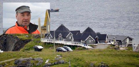 Kjell Ingebrigtsen har selv investert over ni millioner i dette anlegget. Nå er han glad for at bedriften fikk støtte fra Nordkapp kommune.